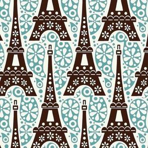 Eiffel on Paisley / Jade