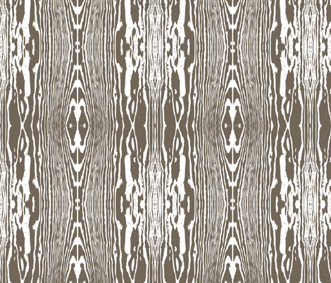 woodgrain_dkbrown fabric by einekleinedesignstudio on Spoonflower - custom fabric