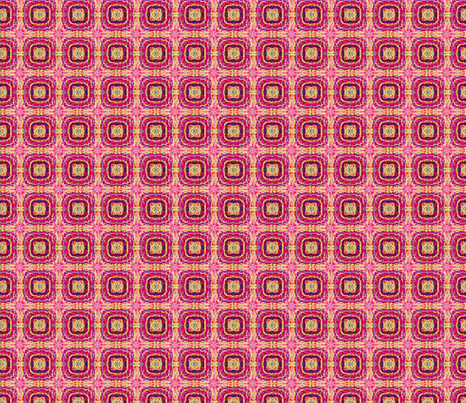 Tile weaving.pink,small. fabric by koalalady on Spoonflower - custom fabric