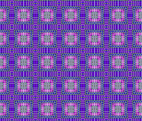tile-weave_purple_blue_pink fabric by koalalady on Spoonflower - custom fabric