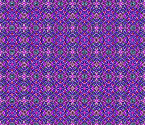 Tile-weave_purple pink blue_star fabric by koalalady on Spoonflower - custom fabric