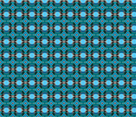 Blue Guitar-small fabric by koalalady on Spoonflower - custom fabric