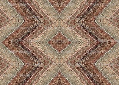 Carpet with diamonds
