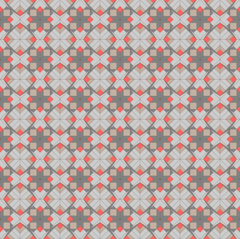 Geometric Holiday fabric by designmagi on Spoonflower - custom fabric