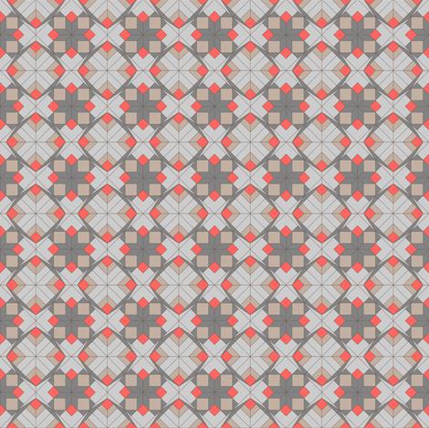Geometric Holiday fabric by designmagi on Spoonflower - custom fabric