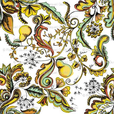 Pears & Dandelions