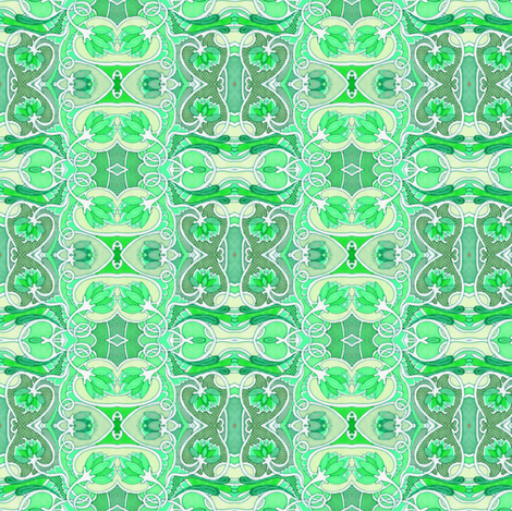 Faded Mint Two-Step fabric by edsel2084 on Spoonflower - custom fabric