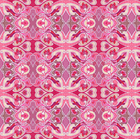 Say Yes to Romance fabric by edsel2084 on Spoonflower - custom fabric