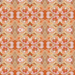 Minuet of the Heart (peach/tan/orange)