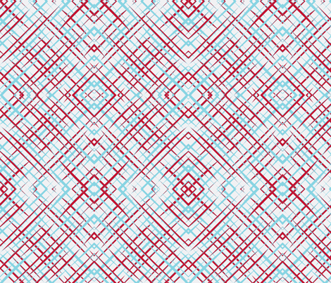 Brush_Plaid_White-ch fabric by lkglioness on Spoonflower - custom fabric