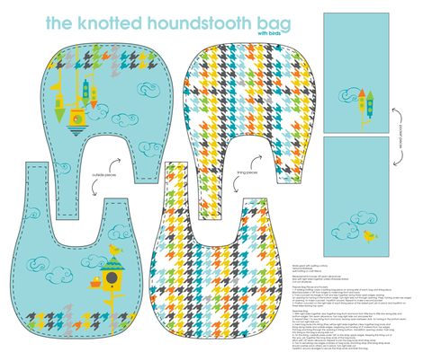 the Knot bag fabric by kfay on Spoonflower - custom fabric