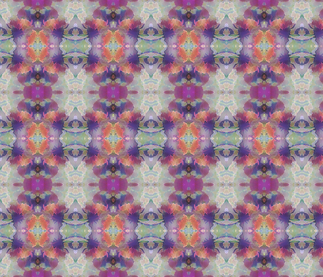 Flowers-abstract. fabric by koalalady on Spoonflower - custom fabric