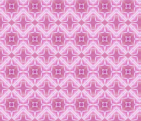 Pink Kaleidoscope fabric by koalalady on Spoonflower - custom fabric