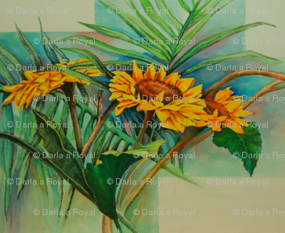 Sunflowers All Around-ed