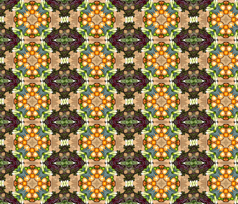 Vegetables  2 fabric by koalalady on Spoonflower - custom fabric