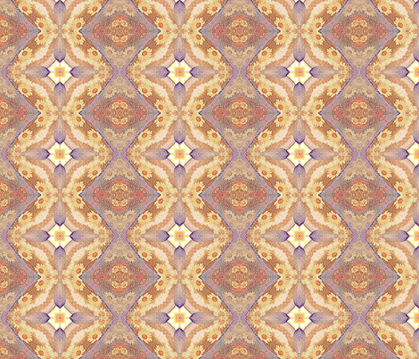 Yellow Flower fabric by koalalady on Spoonflower - custom fabric