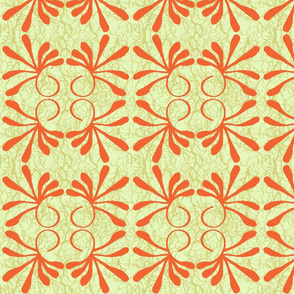 Tangle & Sprig (tangerine)
