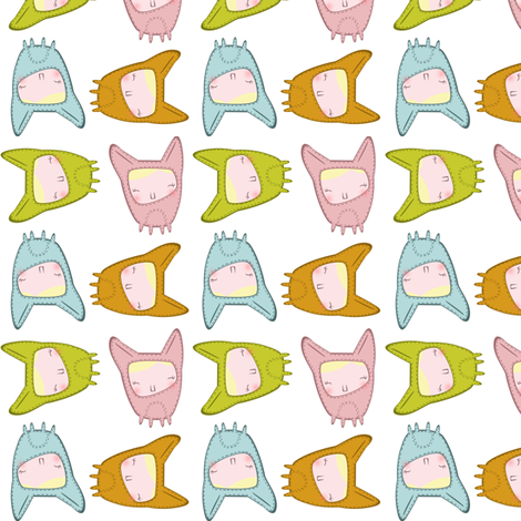 Hitten_inside_the_chihuahua fabric by annelouise on Spoonflower - custom fabric