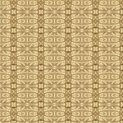 Angel Wings (sepia) fabric by edsel2084 on Spoonflower - custom fabric
