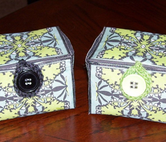 Craft Party Fabric Kit: Global Community Garden Gift Boxes and Brooch Blossoms