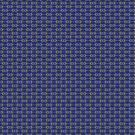 Bitty Bits - navy fabric by ragan on Spoonflower - custom fabric