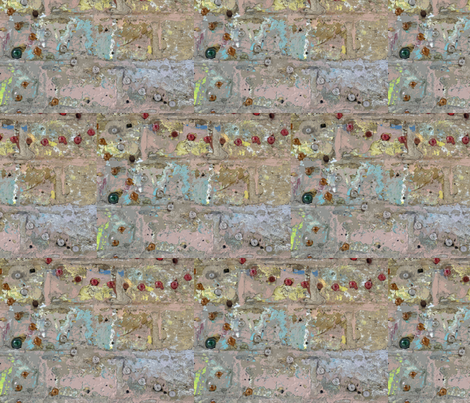Thick as a Brick - side-by-side fabric by susaninparis on Spoonflower - custom fabric