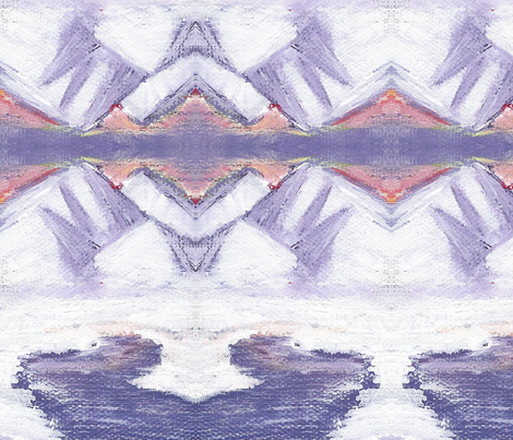 Dawn's Snow fabric by brandymiller on Spoonflower - custom fabric