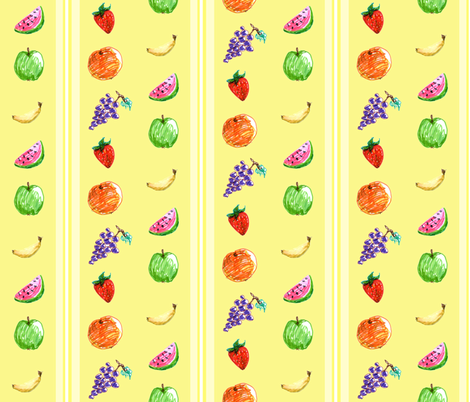 fruityfabric fabric by simplasticity on Spoonflower - custom fabric