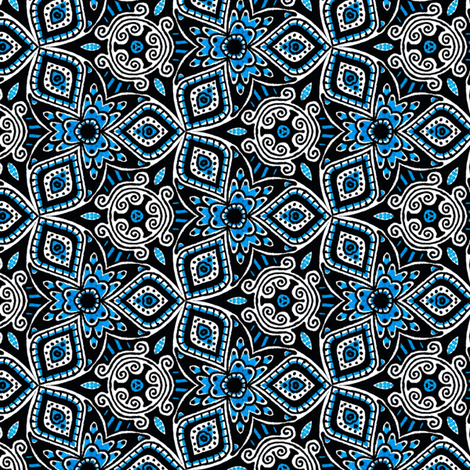 Juno fabric by siya on Spoonflower - custom fabric