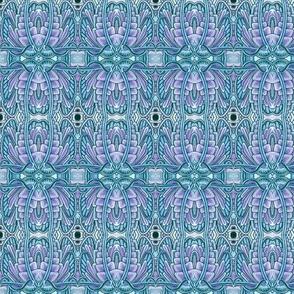 Angel Wings (blue/lavender)