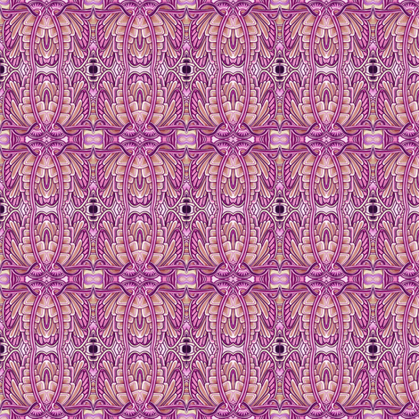 Angel Wings (plum, vertical) fabric by edsel2084 on Spoonflower - custom fabric