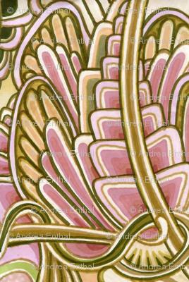 Angel Wings (pink/tan)