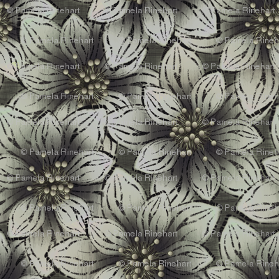 BIGFLOWERS - Charcoal