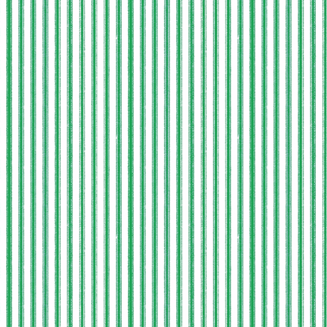 ticking-stripegreen fabric by ragan on Spoonflower - custom fabric