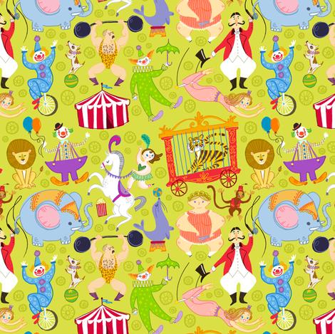 Under the Big Top fabric by spicysteweddemon on Spoonflower - custom fabric