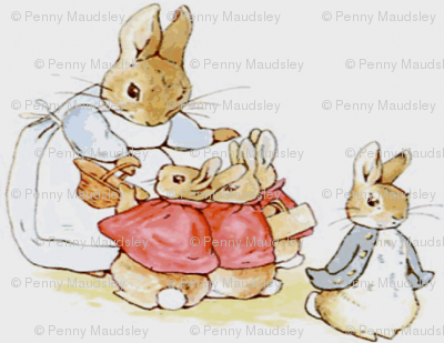 PETER RABBIT AND FAMILY