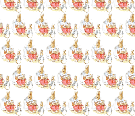 PETER RABBIT fabric by bluevelvet on Spoonflower - custom fabric