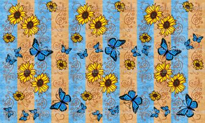 Sunflower Monarch Memories