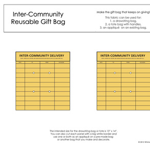 Inter-Community Reusable Gift Bag