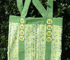 Green and Yellow Bag