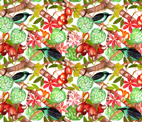 Wonderful Cerrado Brasileiro fabric by clarissa_macedo on Spoonflower - custom fabric
