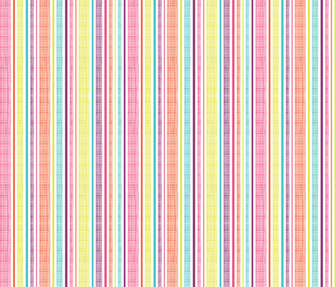 Textured Summer Stripe fabric by rosiesimons on Spoonflower - custom fabric