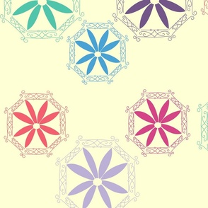 Multicolored_Medallions_with_Background_FOR_SPOONFLOWER_UPLOAD