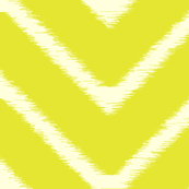 Lime Ikat Chevron