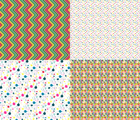 FQ collection fabric by katherinecodega on Spoonflower - custom fabric