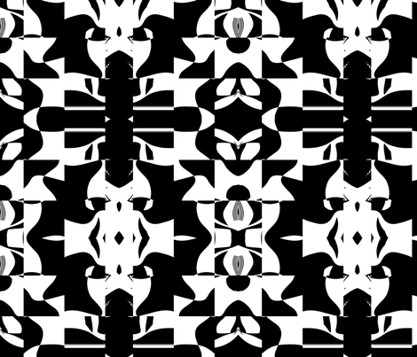 Blocky 14 fabric by animotaxis on Spoonflower - custom fabric