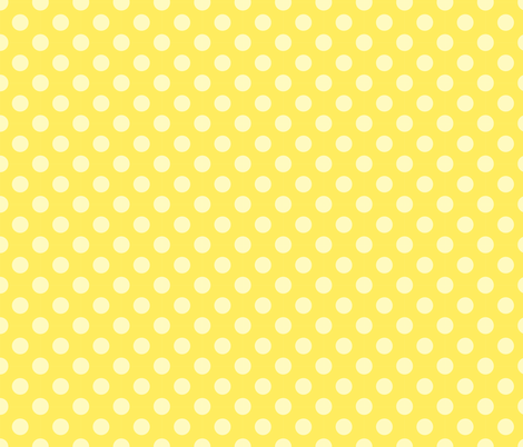 THE SEWER PROTECTOR II (coordinated fabric - banana pois) fabric by majobv on Spoonflower - custom fabric