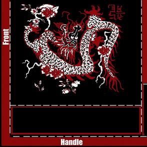 Year of the Dragon notebook Tote Bag
