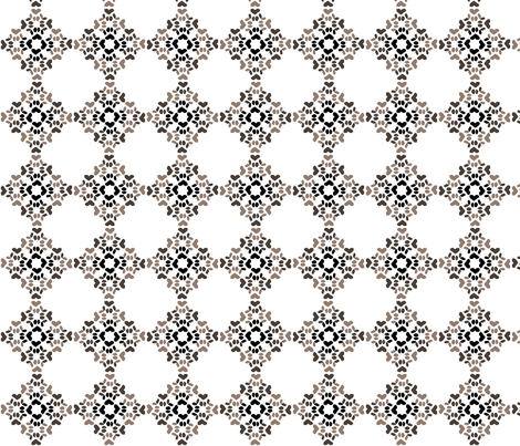 PawDiamond4 fabric by gg33 on Spoonflower - custom fabric