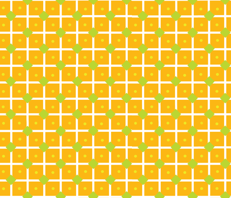 Dots, squares, lattuce fabric by snuss on Spoonflower - custom fabric